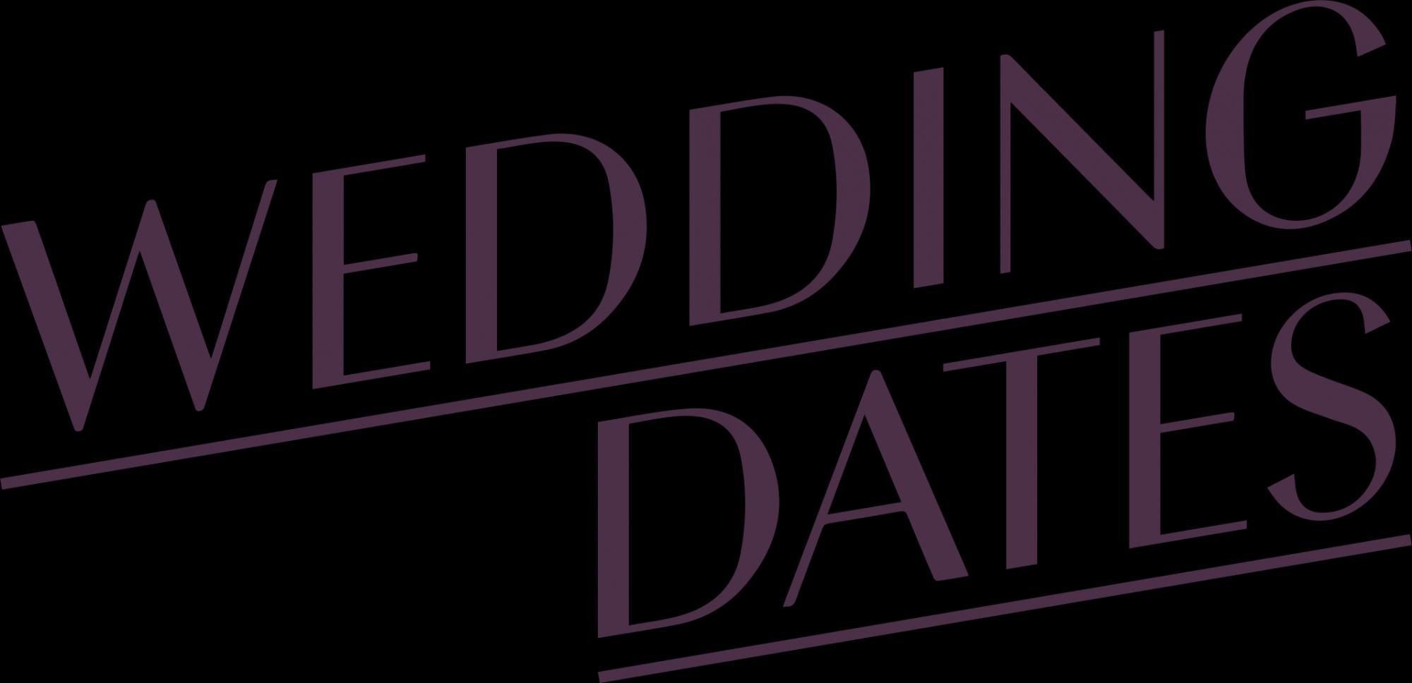 wedding dates logo for blog post