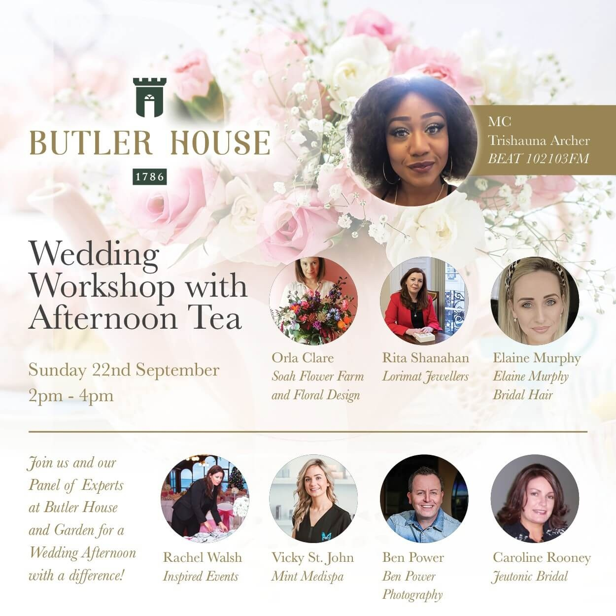 wedding workshop supplier panel